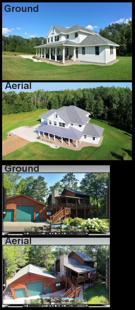 Aerial vs Ground